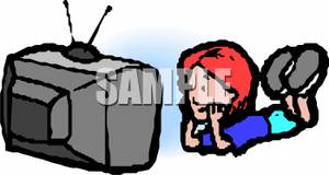 girl watching tv clipart. clipart info girl watching tv