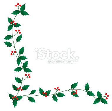 Christmas Clipart Holly.Free Christmas Holly Border Clipart Panda Free Clipart