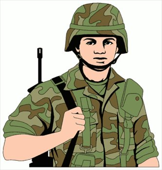 free soldiers clipart clipart panda free clipart images rh clipartpanda com soldier clipart silhouette soldier clip art black and white