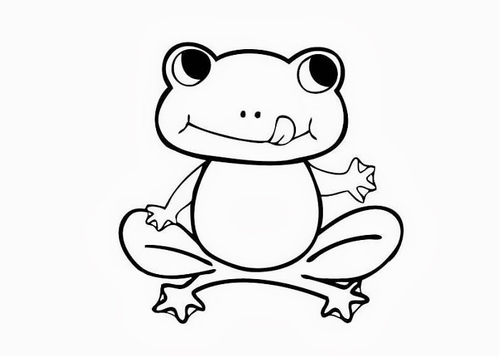 Frog Coloring Pages For Clipart Panda Free Clipart Images