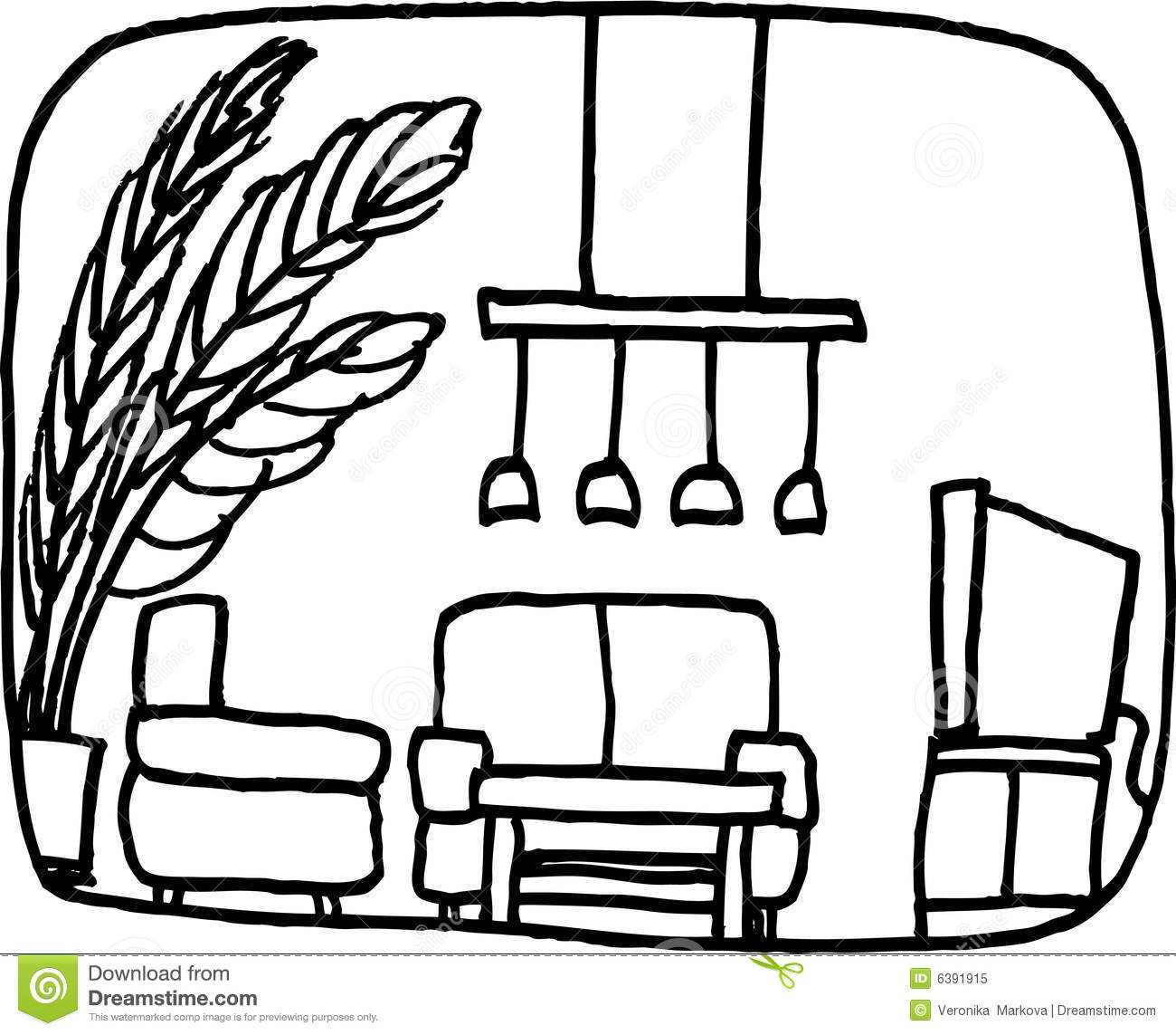 Gallery Of Living Room Clipart