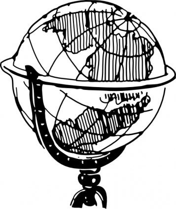 globe clip art vector graphic clipart panda free clipart images rh clipartpanda com  free globe clipart black and white