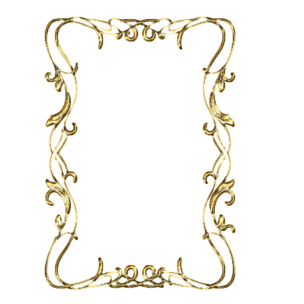 GOLD FRAME By TheArtist100