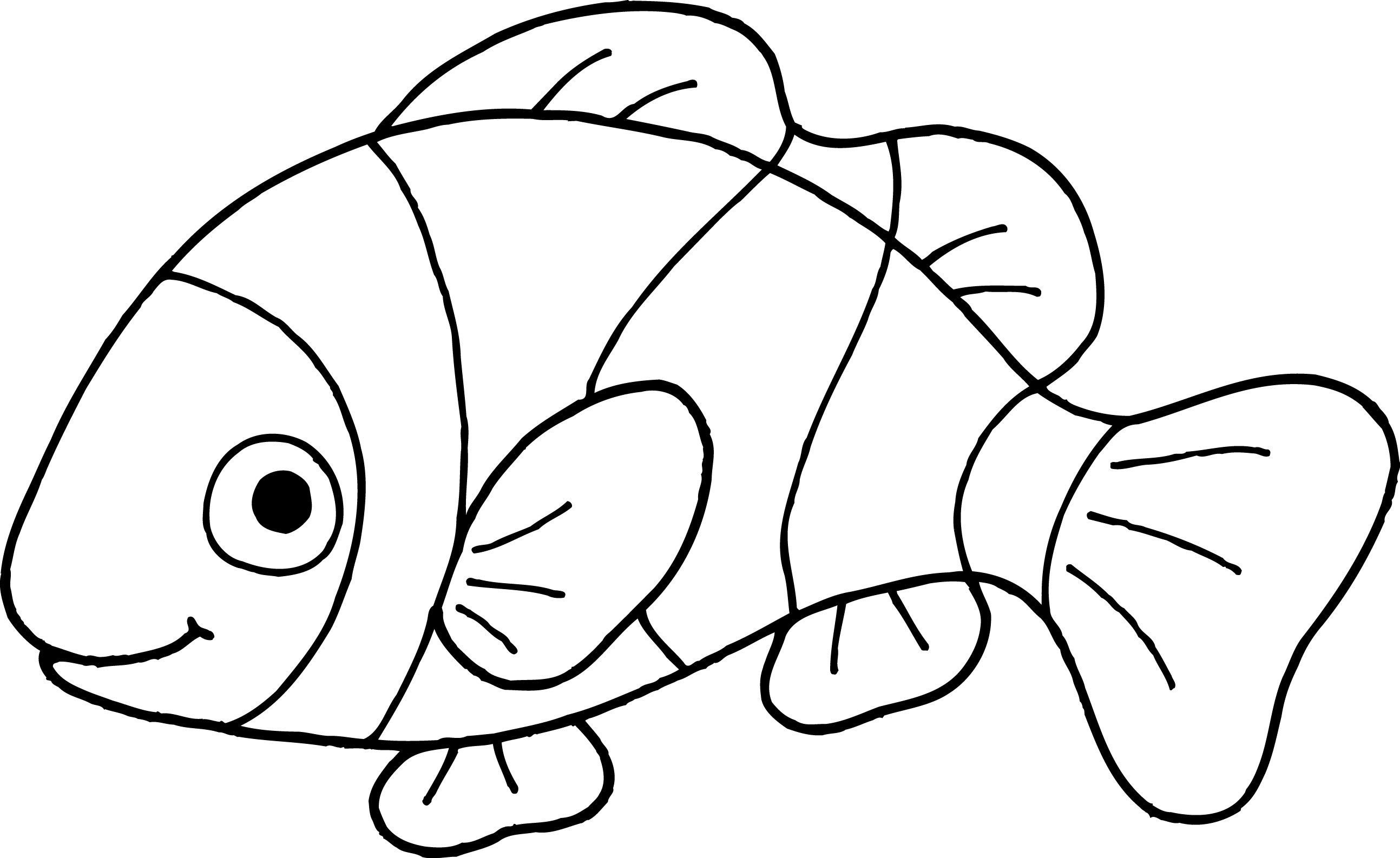 Goldfish Clipart Black And | Clipart Panda - Free Clipart Images for Goldfish Clipart Black And White  110ylc