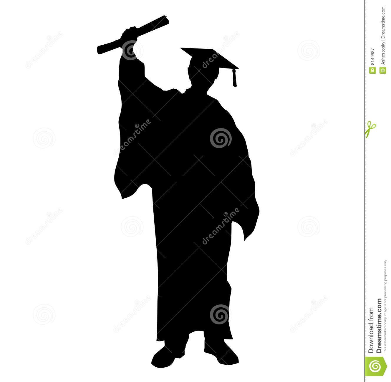 graduate student silhouette clipart panda free clipart images rh clipartpanda com Graduates Both Genres Student Success Clip Art