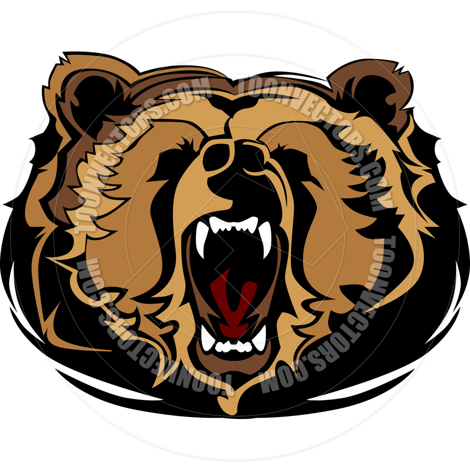grizzly bear head vector clipart panda free clipart images rh clipartpanda com