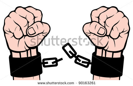Broken Shackles And Chains