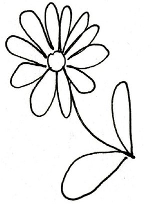 Happy Sketches Flowers With Clipart Panda Free Clipart
