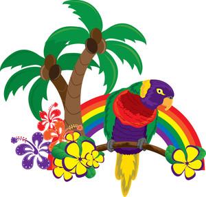 hawaii clipart image rainbow clipart panda free clipart images rh clipartpanda com hawaiian clip art borders hawaiian clip art fonts