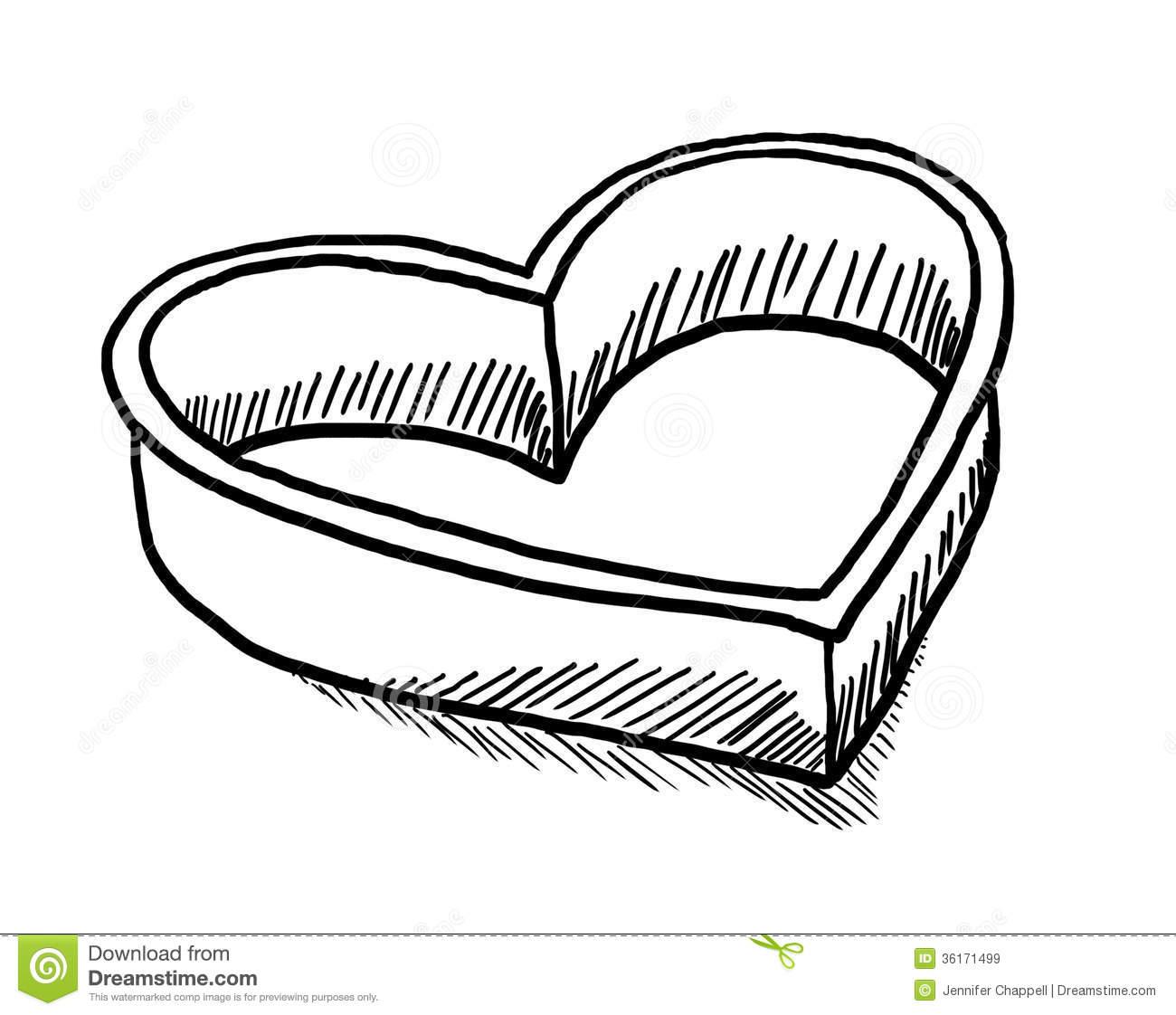 Heart Cookie Cutter Clip Art