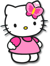 hello kitty clip art clipart panda free clipart images rh clipartpanda com hello kitty clipart cheerleader hello kitty clipart