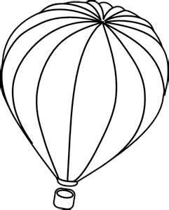 Hot Air Balloon Template Clipart Panda Free Clipart Images