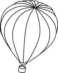 hot air balloon template, | Clipart Panda - Free Clipart Images
