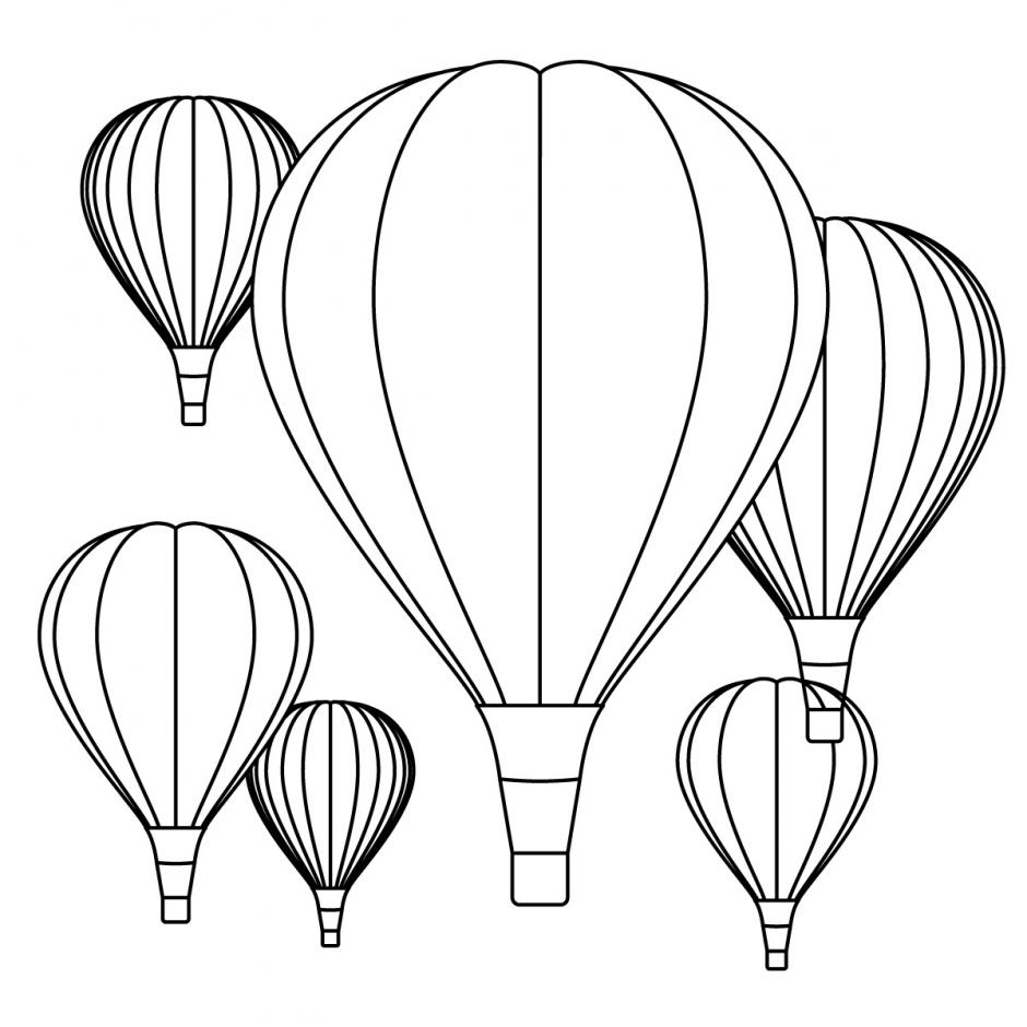Hot air balloon template to | Clipart Panda - Free Clipart ...
