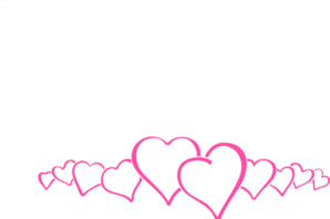 hot pink heart border clip art clipart panda free clipart images rh clipartpanda com heart border clipart black and white heart border clipart black and white