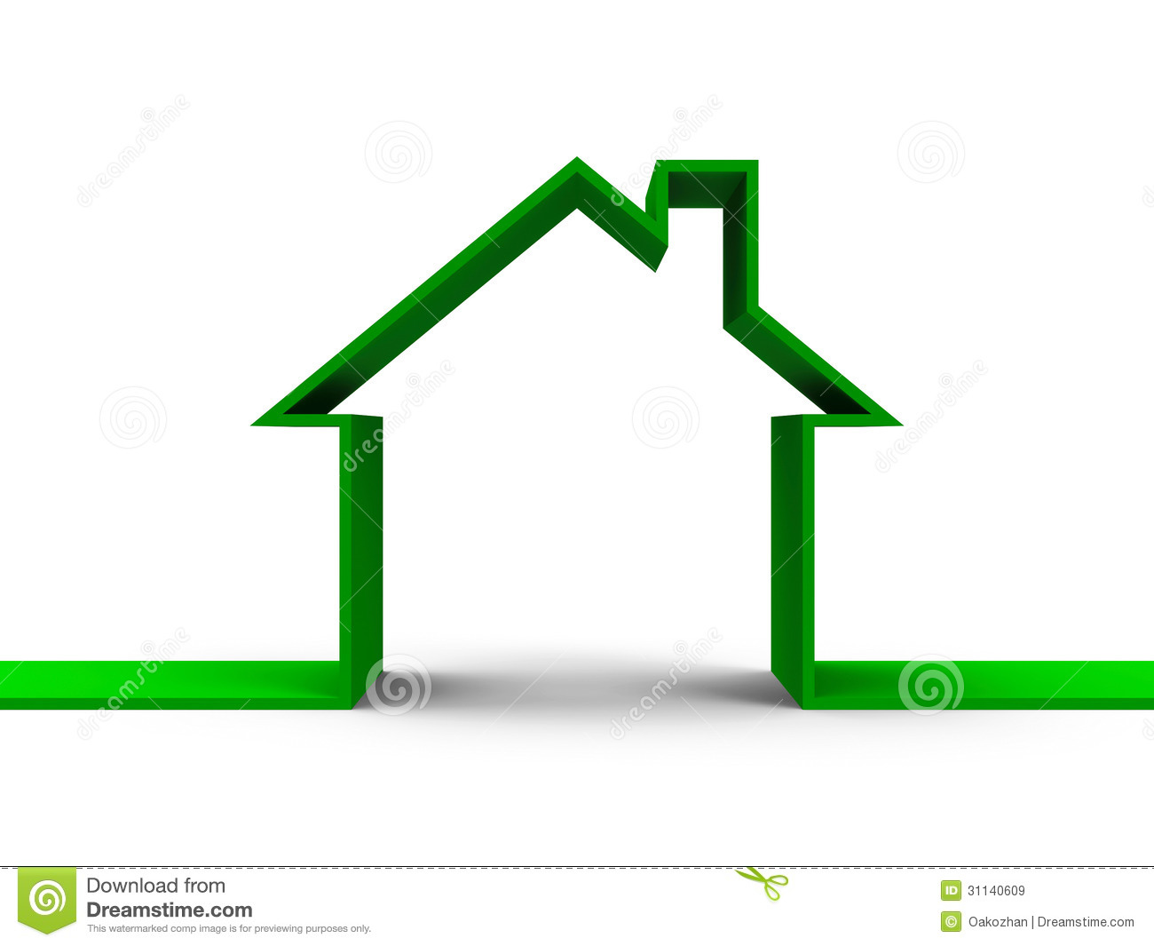 House outline picture - Clipart Info