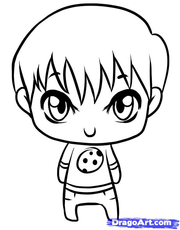 How To Draw A Little Boy Clipart Panda Free Clipart Images