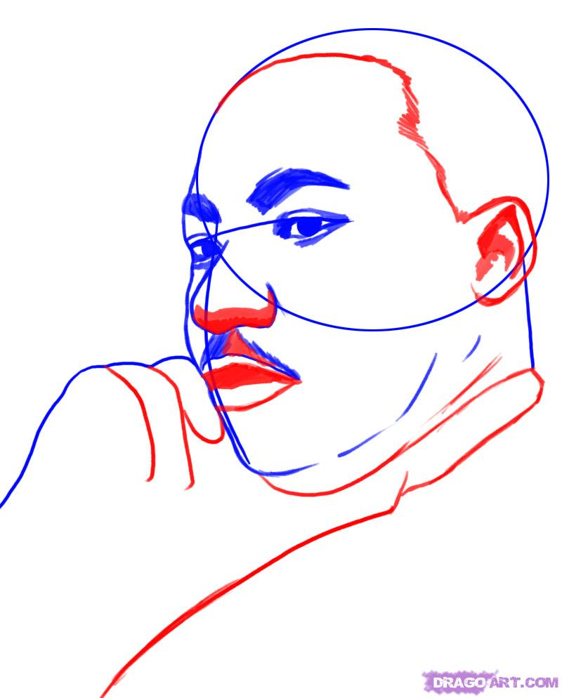 How To Draw Martin Luther King Clipart Panda Free Clipart Images