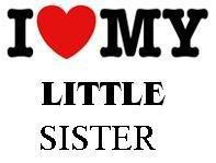 I Love My Sister Quotes Fair I Love My Little Sister Quotes  Clipart Panda  Free Clipart Images