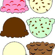 ice cream scoop printable clipart panda free clipart images rh clipartpanda com ice cream cone scoop clip art Ice Cream Party Clip Art