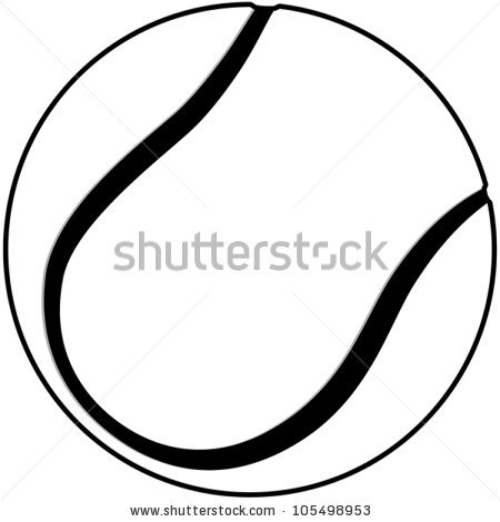 illustration of a tennis ball clipart panda free clipart images rh clipartpanda com Tennis Racket and Ball Clip Art Black and White Tennis Ball Clip Art Black and White Sheet