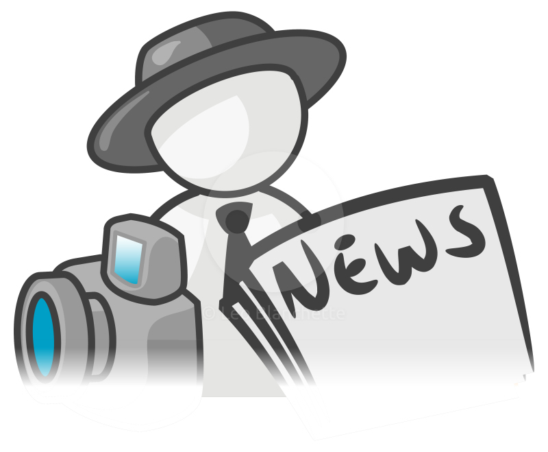 Image result for reporter clipart