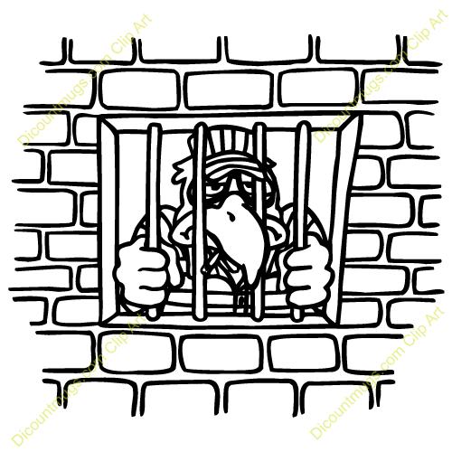 jail bird clip art clipart panda free clipart images rh clipartpanda com jail bars clipart jail clipart gif