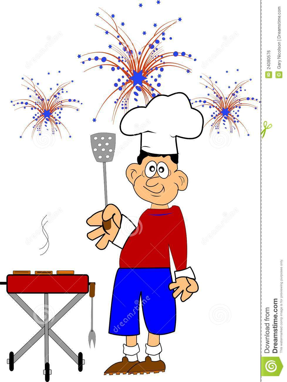 4th of clipart bbq july pictures