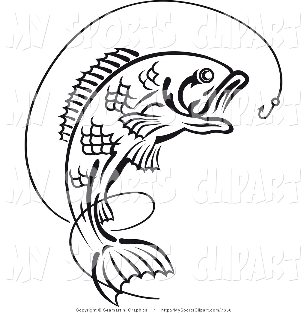 jumping bass fish clip clipart panda free clipart images rh clipartpanda com bass fish clipart free bass fish vector clipart