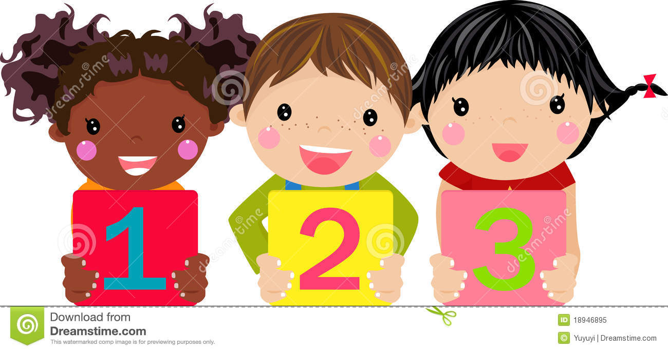 kids holding number clipart panda free clipart images