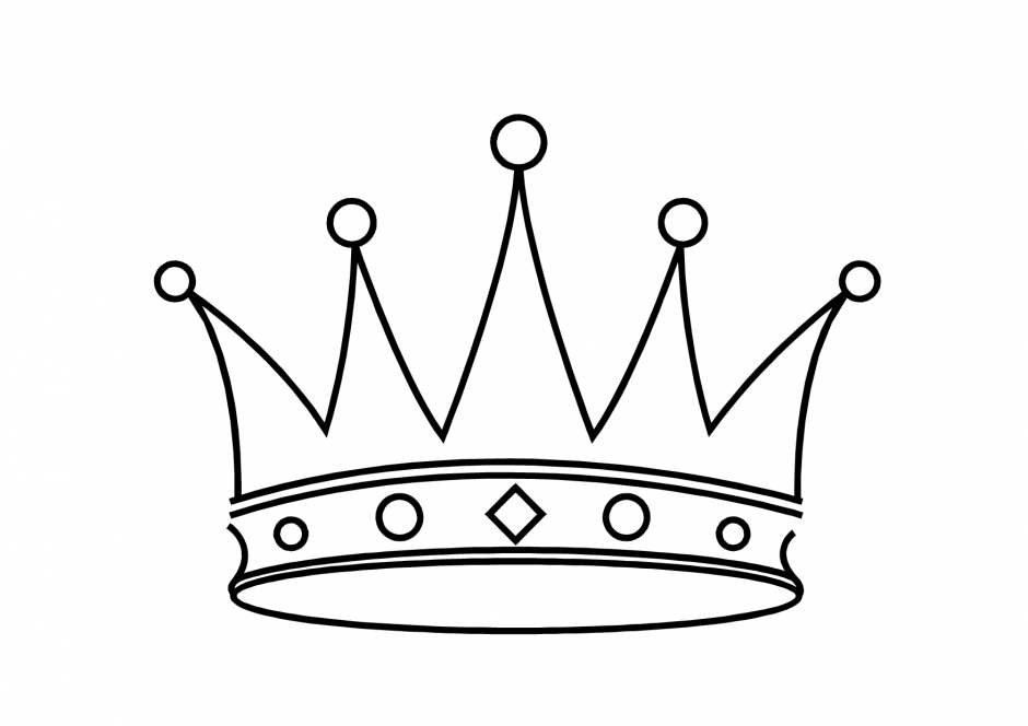 King Crown Coloring Page Clipart Panda Free Clipart Images