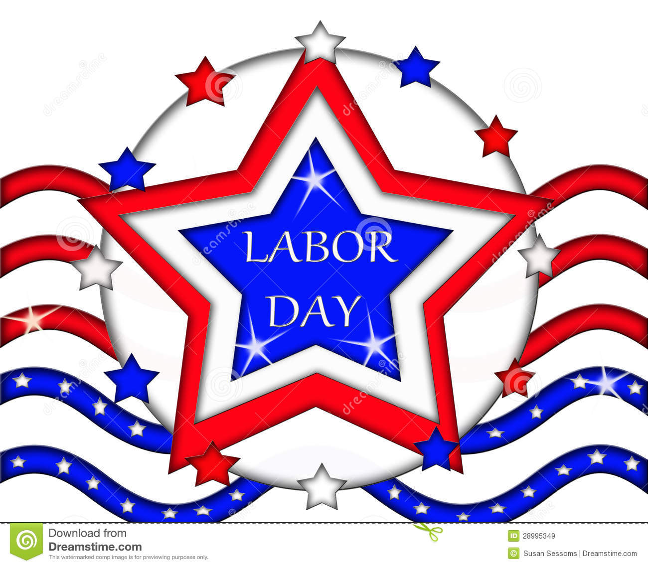 Labor day flag sign banner clipart panda free clipart images labor day clipart buycottarizona Choice Image