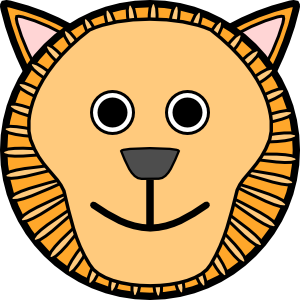 lion rounded face clip art clipart panda free clipart images rh clipartpanda com angry lion face clipart lion face images clip art