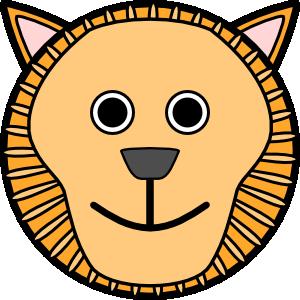lion rounded face clip art clipart panda free clipart images rh clipartpanda com cartoon lion face clip art animals lion face clipart