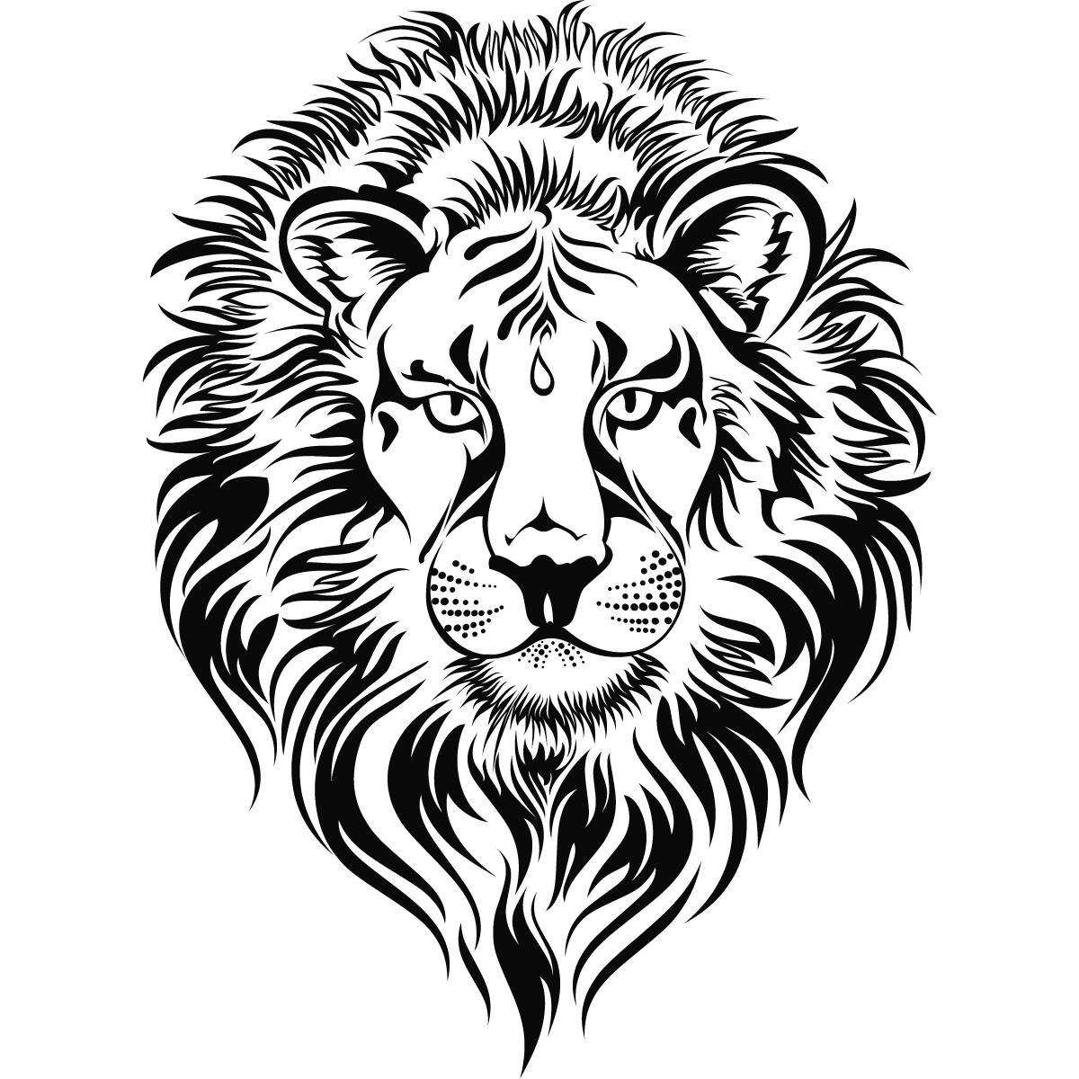 lions head animal big cats clipart panda free clipart images
