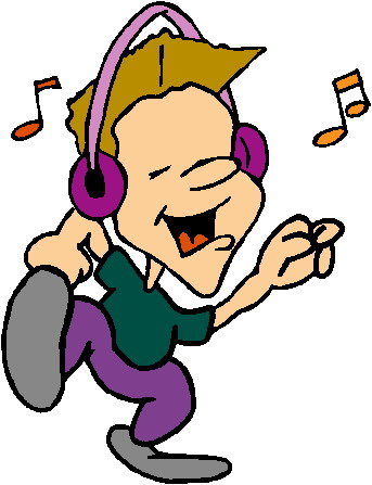 Image result for kids listening to music clipart images