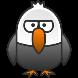 Little Bald Eagle Icon Clipart Panda Free Clipart Images