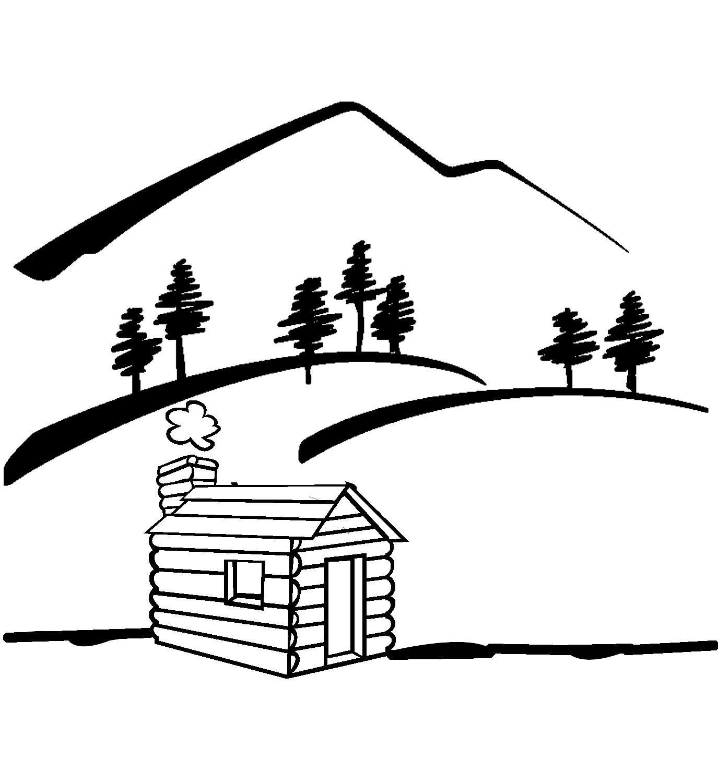 log cabin clip art viewing clipart panda free clipart images rh clipartpanda com log cabin clipart cabin clip art free
