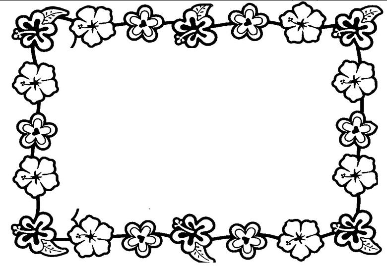 Luau Theme Coloring Page Clipart Panda Free Clipart Images