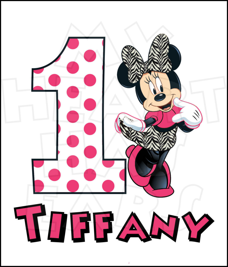 Minnie Mouse PERSONALIZED Clipart Panda Free Clipart Images