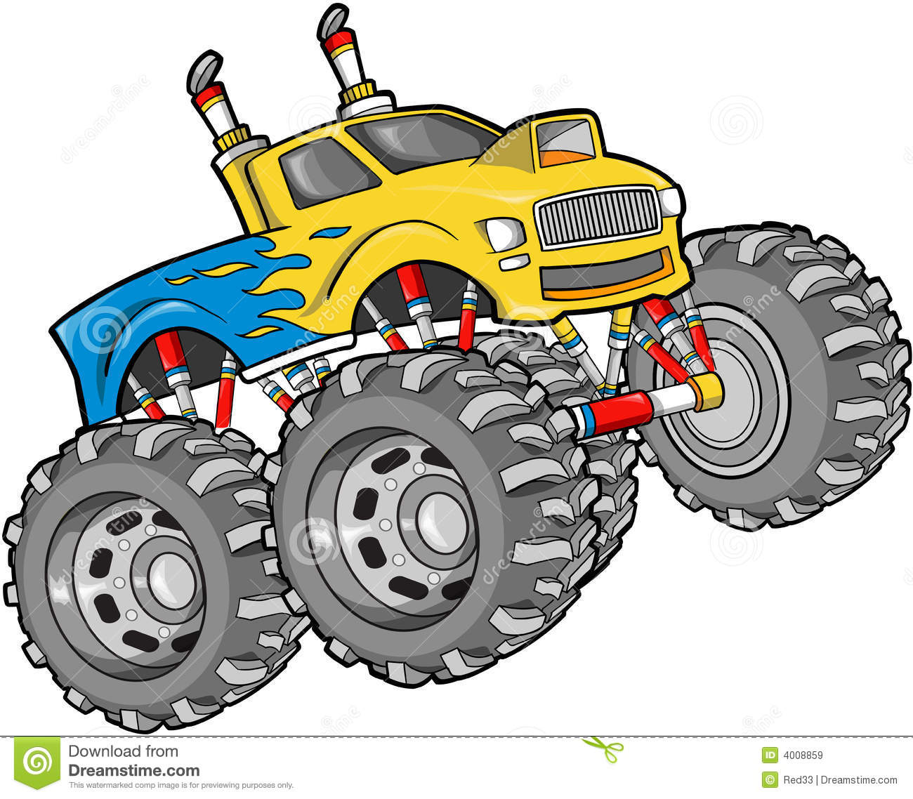monster truck illustration clipart panda free clipart images rh clipartpanda com monster truck clip art free for birthdays monster truck clipart png
