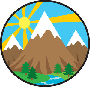 Image result for mountains clipart