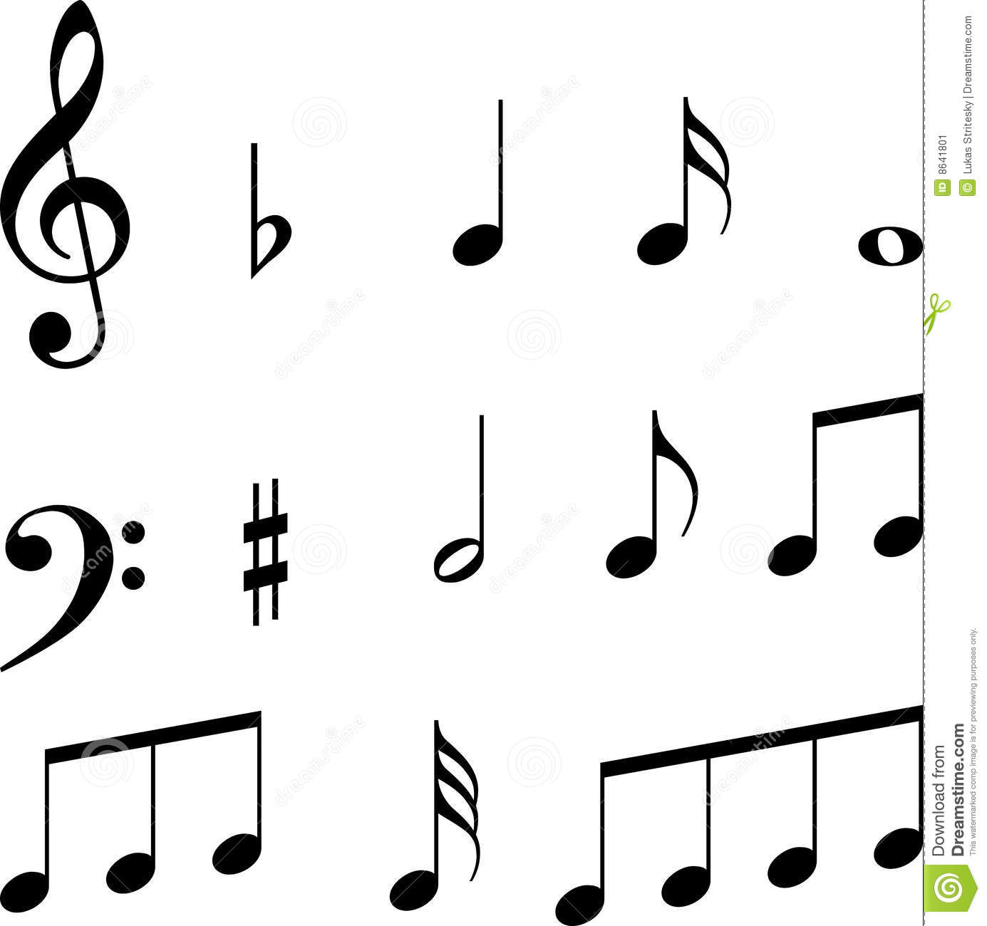 Music notes symbols clipart panda free clipart images clipart info biocorpaavc Image collections