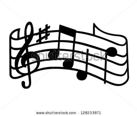 music staff retro clipart clipart panda free clipart images rh clipartpanda com  music staff clip art black and white