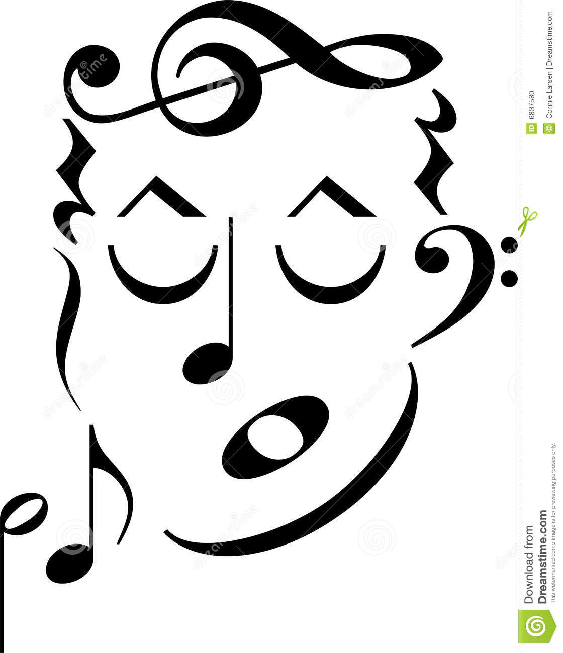 Music symbol face clipart panda free clipart images clipart info biocorpaavc