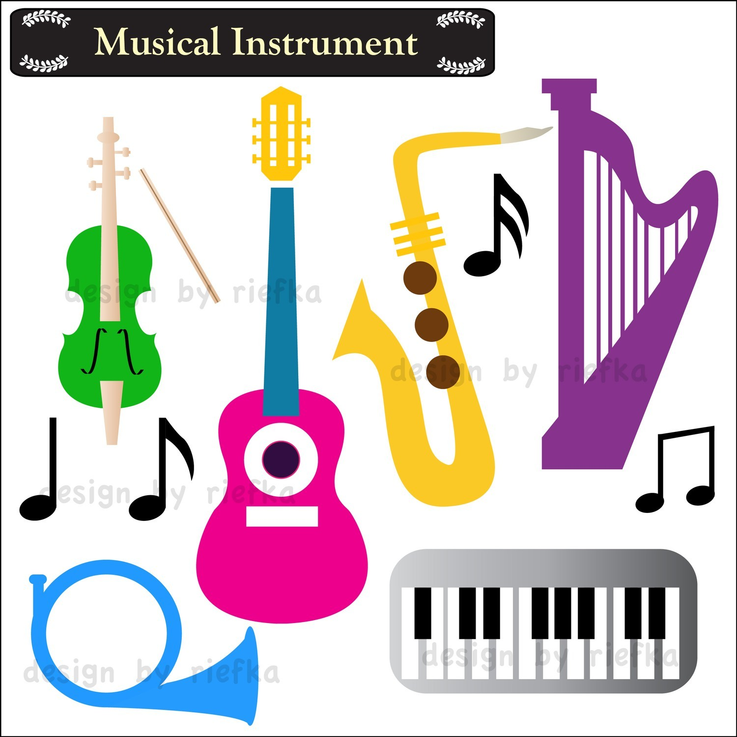 musical instruments clipart 1 clipart panda free clipart images rh clipartpanda com Angel Clip Art Free Download christmas music clipart free download