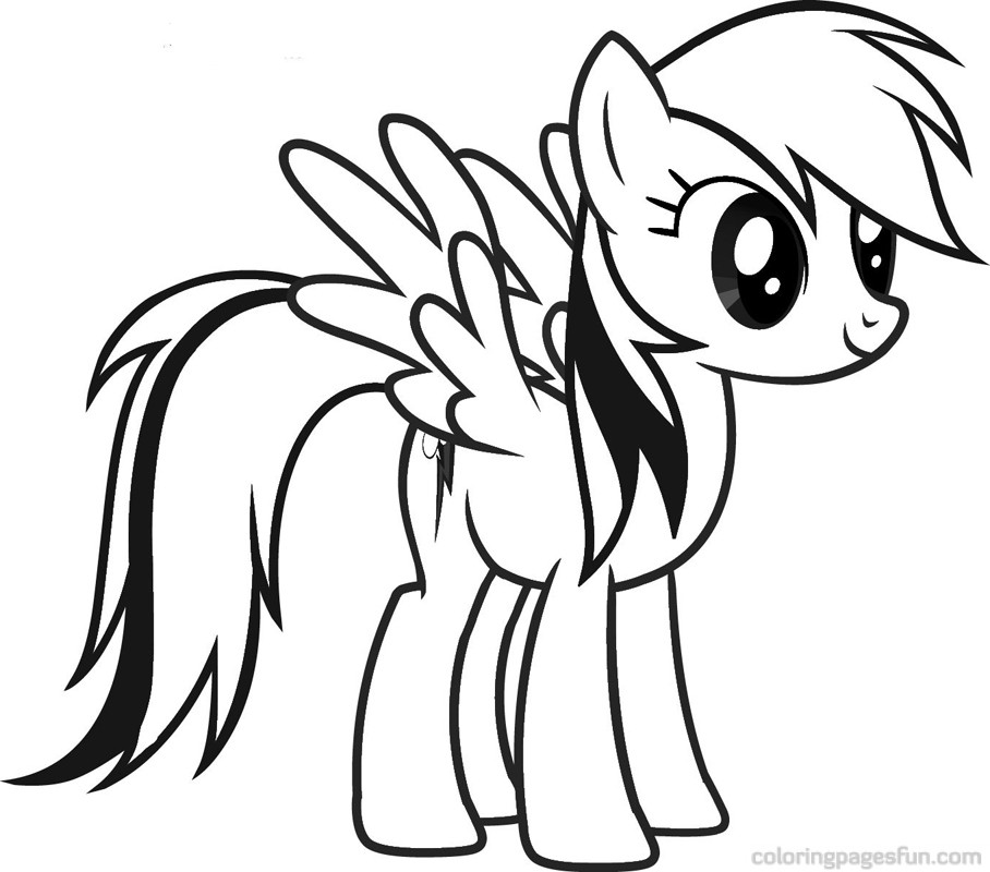 clipart info - My Little Pony Coloring Pages
