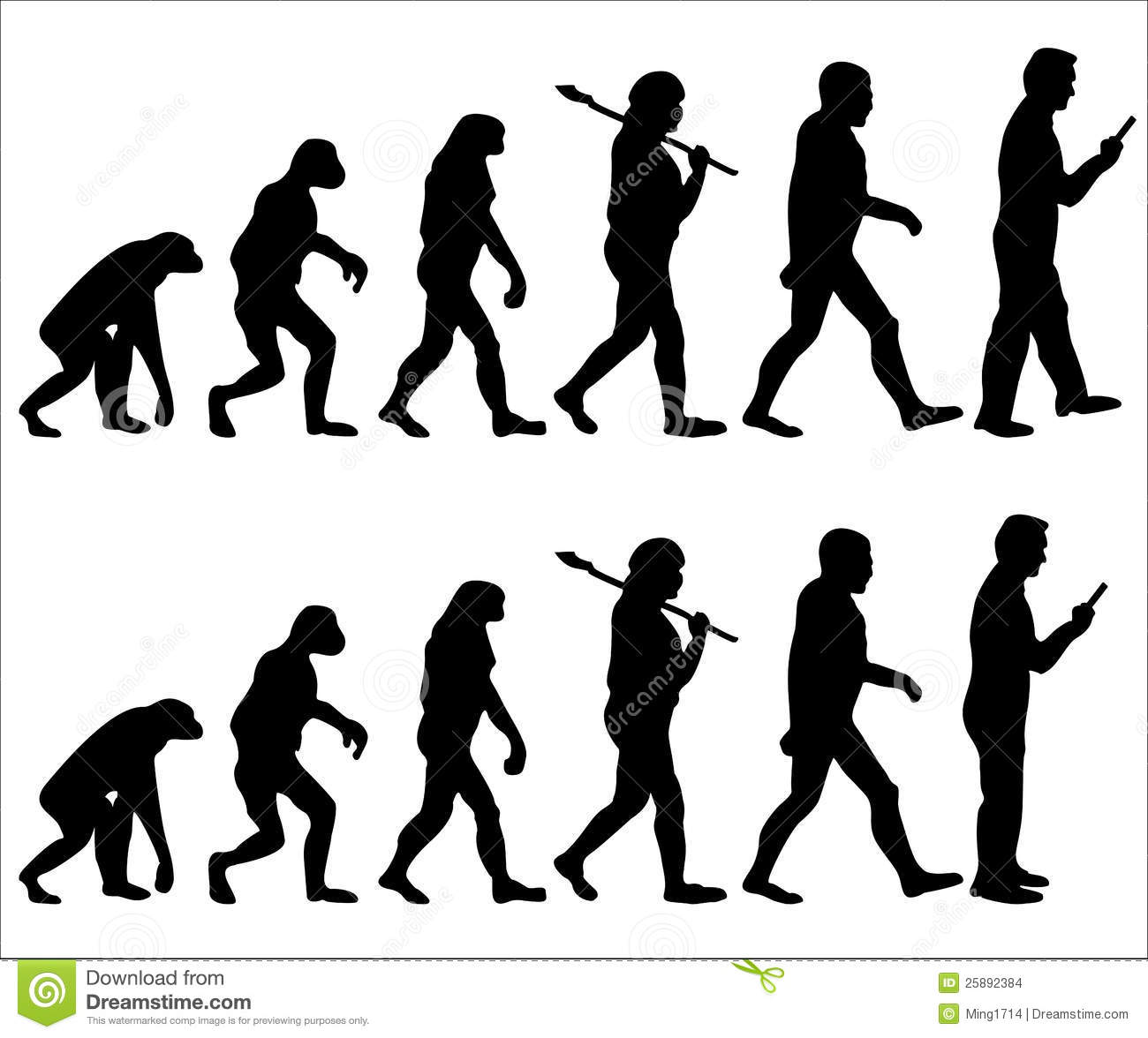 Next human evolution | Clipart Panda - Free Clipart Images