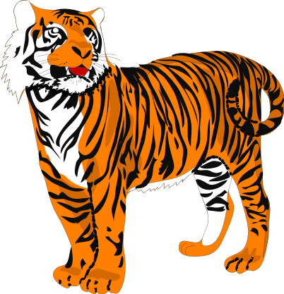 of tigers clipart best clipart panda free clipart images rh clipartpanda com tiger clipart free download tiger clip art black and white