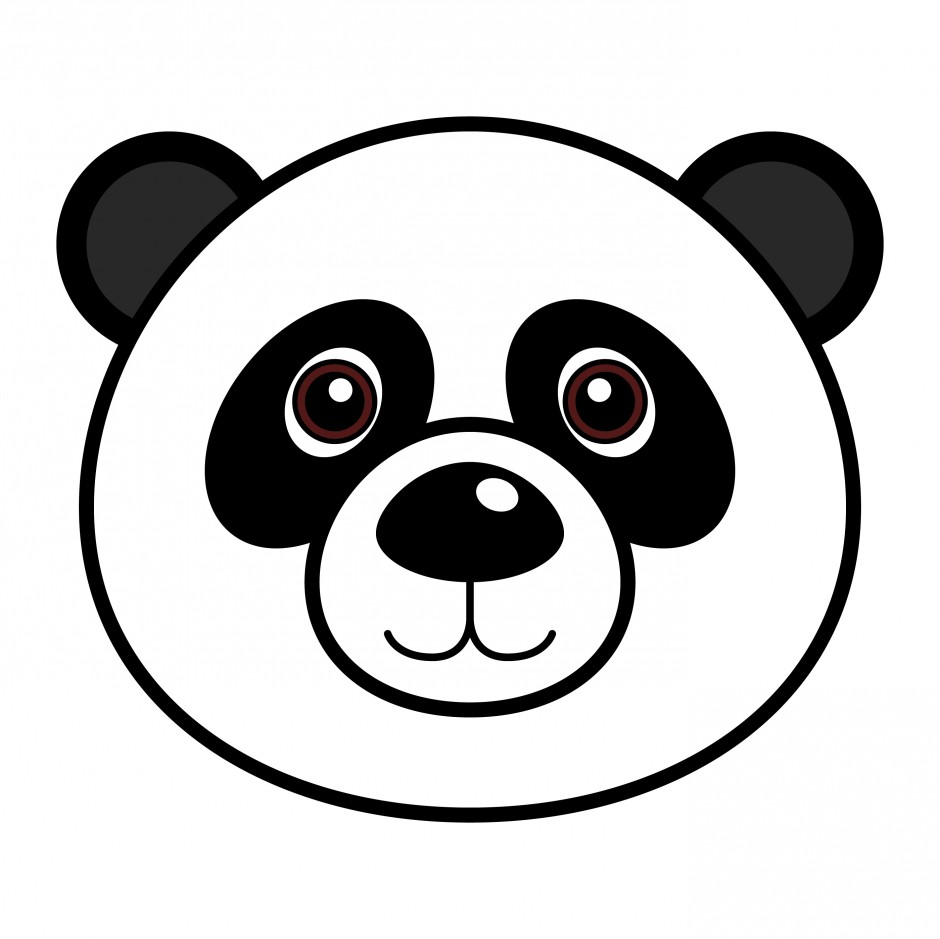 Uncategorized Drawing A Panda Bear panda line drawing clipart free images info